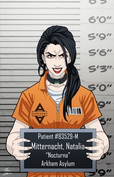 Natalia Mitternacht (Earth-27) locked up commissio by phil-cho