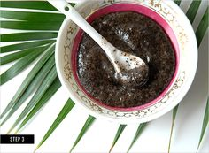 DIY Body Scrub: it's anti-aging, stimulates blood flow, prevents skin damage, and may even combat cellulite! Holy goodness. | Rue