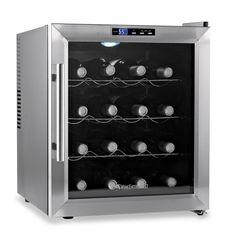 Wine Enthusiast Silent 16-Bottle Wine Refrigerator with Stainless Steel Trim Door - BedBathandBeyond.com $199.99