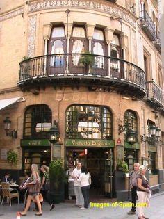 Seville street scene