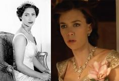 The Crown: Netflix unveils the most expensive TV show ever made | Vanessa Kirby (right) is a dead ringer for Princess Margaret (right ...