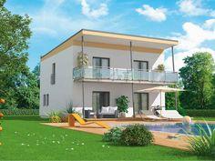 Haus bauen modern pultdach  VARIO-HAUS New Design IV #gibtdemLebeneinZuhause, Einfamilienhaus ...