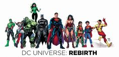 DC Universe: Rebirth - Jim Lee