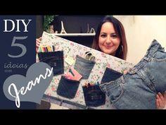 5 IDEIAS COM JEANS | DIY por Camila Camargo