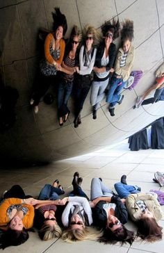 You can get some really fun photos at the Chicago bean - and it is near the theatre.