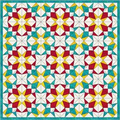 Crown Jewels Foundation Piece Quilt Block PDF Pattern JewelsColoring PagesTo