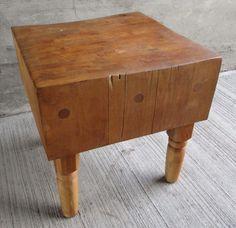 Vintage Maple Butcher Block Table  US $1,499.95 ...... What?!