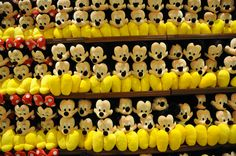 "Shopping for stuffed characters, a ""must do""."