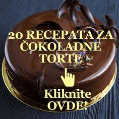 Torte Recepti, Kolaci I Torte, Homemade Cake Recipes, Baking Recipes, Dessert Recipes, Torta Recipe, Cake Decorating Frosting, Sugar Cookie Icing, Serbian Recipes
