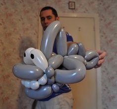 My Daily Balloon: 26th February - Shark - www.mydailyballoon.com