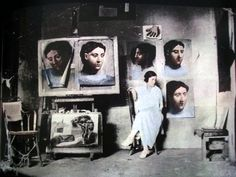 Picasso's atelier