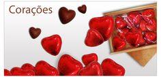 Corações de Chocolate para o seu Amor!  Não perca tempo e surpreenda! http://www.mysweets4u.com/pt/?o=1,5,44,45,0,0