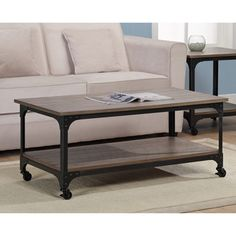 Foundry Elements Coffee Table - Overstock™ Shopping - Great Deals on Coffee, Sofa & End Tables $150