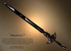 Sword of Wayanoru by ~Wayanoru on deviantART