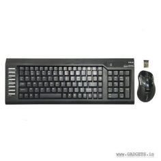 E-Blue T Logic Wireless KB/Mouse Combo EKM029BK