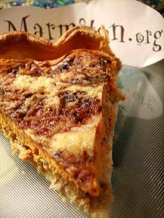Selon les commentaires tester avec un fond de moutarde à l'ancienne, de fines tranches de tomates fraîches, et doubler les quantités de thon.