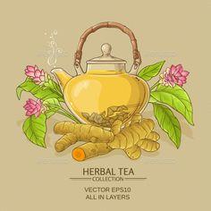 Buy Turmeric Tea Illustration by on GraphicRiver. turmeric tea in teapot on color background Tea Illustration, Illustrations, Tea Time Quotes, Turmeric Tea, 3d Paper Crafts, Ginger Tea, Flower Tea, Tea Art, Beverages