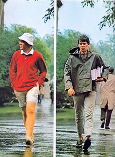 Vintage menswear catalogue. Take Ivy circa 1965. Like the green jacket.