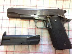 Colt 1911 - Prodám Norinco 1911 9 mm, dvouřadá verze. Uloženka, jako nová, jemná spusť. Možná výměna za jednořadou 1911 + doplatek dle značky, stavu a dohody.https://s3.eu-central-1.amazonaws.com/data.huntingbazar.com/12705-colt-1911-pistole.jpg