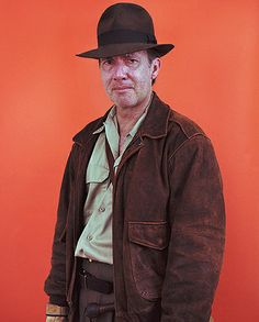 Nicolas Silberfaden photo.  Depressed Indiana Jones