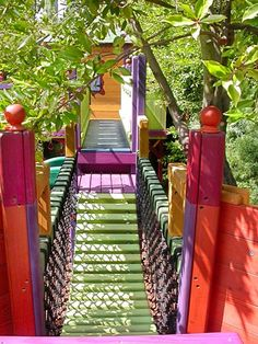 playhouse swing bridge