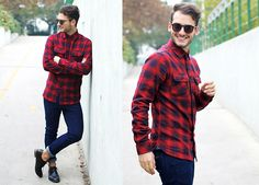 How you should look in flannels