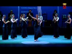 """Academia de baile """"Flamenco Manuela"""" (Parte1, por tango)"""