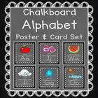 This  chalkboard background alphabet pack is both eye grabbing and includes 2 sizes of alphabet posters, 8.5 x 11 and 5 x 7.  It also includes a 1 ...