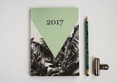 Taschenkalender 2017 - eco-friendly - by Monkey Mind Stationery on Etsy