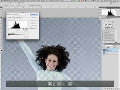 Photoshop-Selezione mista Canale e Selezione rapida - YouTube