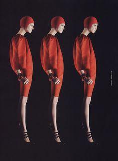Olga Sherer, Lanvin Fall/Winter 2007 Ad Campaign, Steven Meisel
