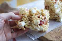 Maple Bacon Rice Krispie Treats