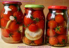 Pomidorki koktajlowe w zalewie octowej Tasty, Yummy Food, Polish Recipes, Polish Food, Beets, Preserves, Mason Jars, Food And Drink, Healthy Eating