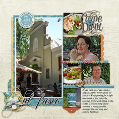 Ideas for Scrapbooking Picnics & Outdoor Meals   Stefanie Semple   Get It Scrapped