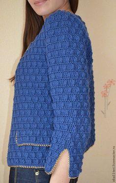 Crochet Jacket, Crochet Poncho, Crochet Cardigan, Crochet Top, Knitting Stiches, Crochet Stitches, Newborn Crochet Patterns, Easy Stitch, Single Crochet Stitch