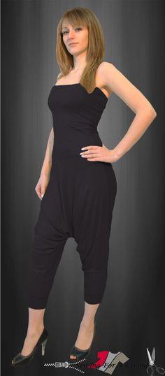 f75c3a6e536 Harem Pants Jumpsuit Sewing Pattern