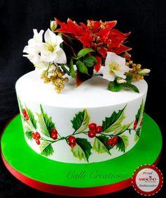 Traditional Christmas Cake by Calli Creations