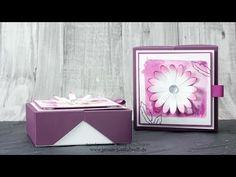 Anleitung: Dreiecks-Box mit NICHTS zum Geburtstag / mit stampin' up! - YouTube