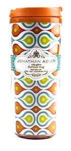 Jonathan Adler Thermal Mug - Plume Price$14.95 Available at: http://www.myprettyoffice.com/products/307-jonathan-adler-thermal-mug-plume.aspx