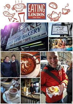 Eating London Food Tour --> a MUST DO when in London!