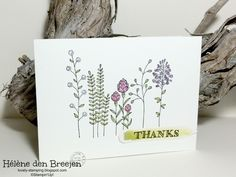 Stampin'Up! Flowering fields