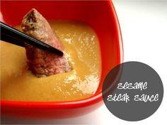 Sesame steak sauce