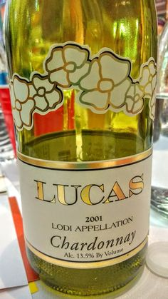 The Lucas Winery 2001 Chardonnay proves that aged whites bring a lot to intrigue. #wbc16 #wine