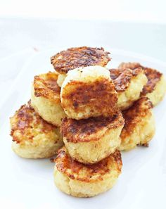 Cheesy Cauliflower Tater Tots- I plan on baking them and substituting the cream with greek yogurt to cut back on the calories and saturated fats