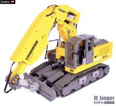 Liebherr R 944 C Tunneling Excavator   by M_longer