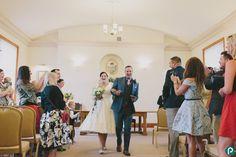 Documentary wedding photography | Dorset weddings | The happy couple
