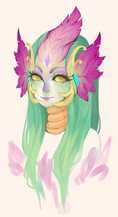 """berrycoat: """" someone gift me this skin ill give you my soul """" Nami League Of Legends, League Of Legends Support, Character Design References, Game Character, Fantasy World, Fantasy Art, Alien Races, Mermaid Coloring, 3d Models"""