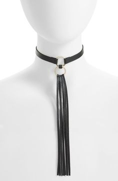 Topshop Long Tassel Choker available at #Nordstrom