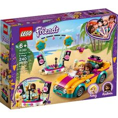 Shop LEGO Friends Andrea's Car & Stage 41390 at Best Buy. Find low everyday prices and buy online for delivery or in-store pick-up. All Lego Sets, Lego Friends Sets, Shop Lego, Buy Lego, Legos, Roxy, Toy Cars For Kids, Lego Toys, Creative Play