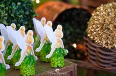 Tinkerbell Favors from a Tinkerbell Fairy Garden Birthday Party via Kara's Party Ideas KarasPartyIdeas.com (7)